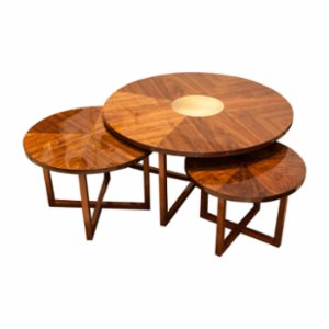 Muhtelif Design  Triple Coffee Table