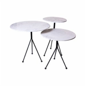 Muhtelif Design  Trio Side Table Set