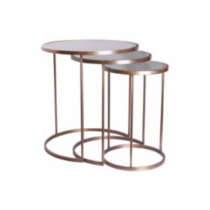 Muhtelif Design  Trio Side Table Set II