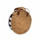 Mien İstanbul Knitted Rattan Round Shoulder Bag