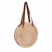 Mien İstanbul  Knitted Rattan Round Shoulder Bag III