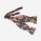 Moris Tropical Vibes Butterfly Self Tie Bow Tie