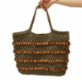 Mien İstanbul Knitted Wooden Beaded Shoulder Bag