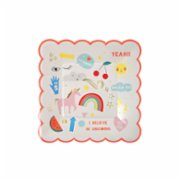 Meri Meri  Unicorn Plate Pack of 8