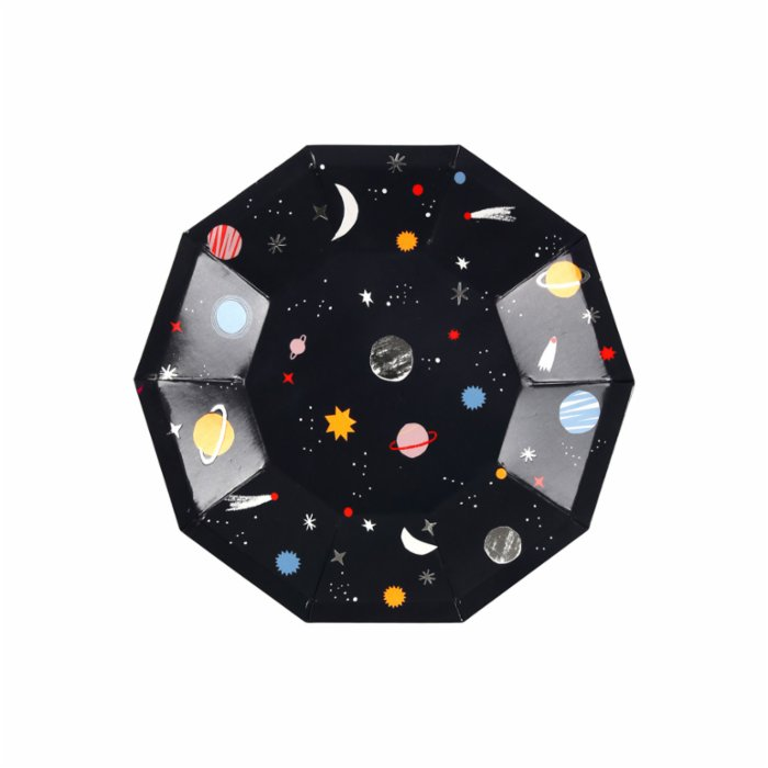 Meri Meri Space Plate Pack of 8