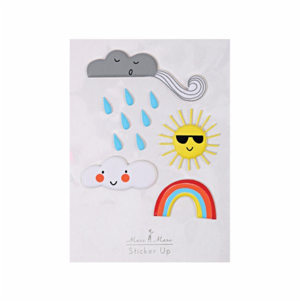 Meri Meri Weather Stickers