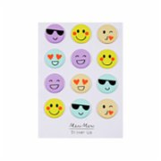Meri Meri  Emoji Puffy Stickers
