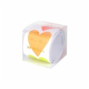 Meri Meri  Neon Heart Stickers