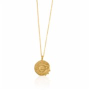 Besign  Saturn Coin Necklace