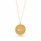 Besign Saturn Medallion Necklace