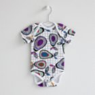 Baby Fou Pears Short Sleeve Body