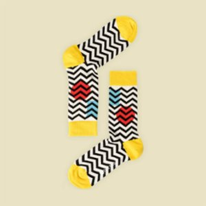 One Two Sock  Zig Zag Socks
