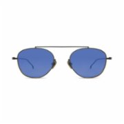 Komono  Sheldon Black Blue Unisex Sunglasses