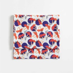 Baby Fou  Mushrooms Muslin Throw