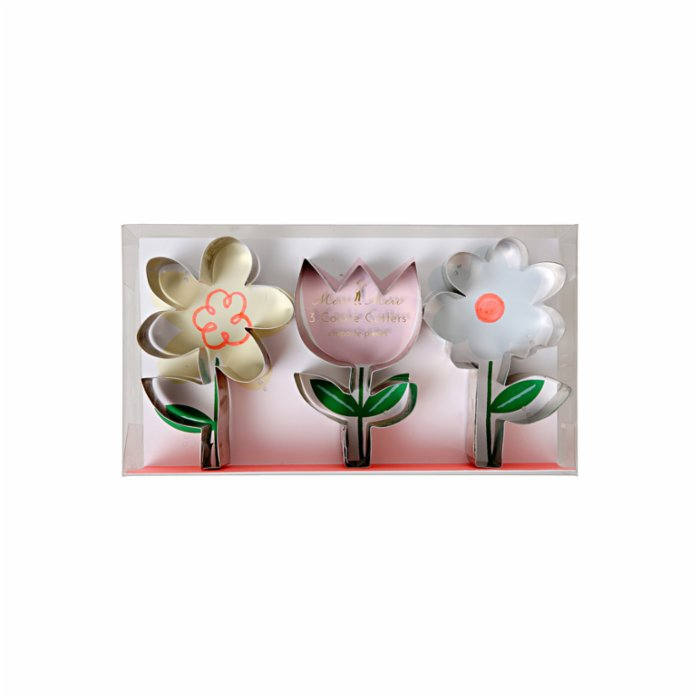 Meri Meri Flower Cookie Cutters