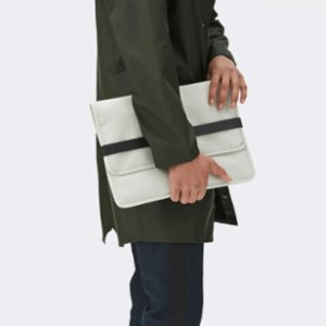 Rains  Portfolio Laptop Bag - Stone