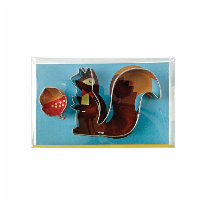 Meri Meri Squirrel Cookie Cutters