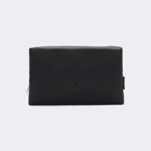 Rains  Wash Bag - Black L