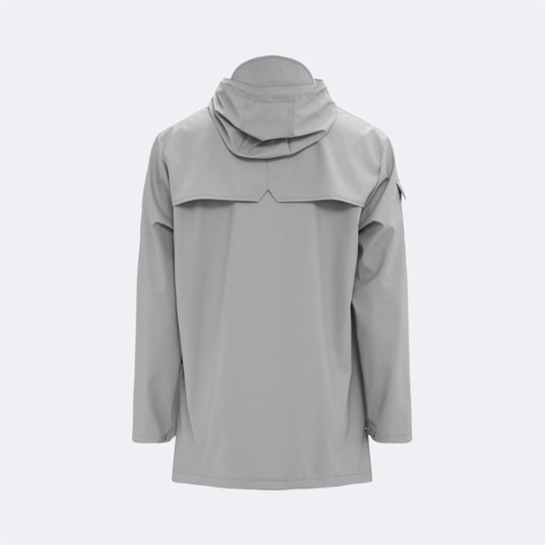 Rains Camp Anorak Raincoat - Stone