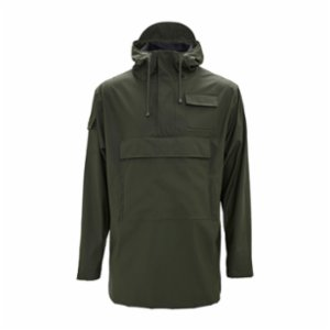 Rains  Camp Anorak Raincoat - Green