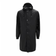 Rains  Fishtail Parka Raincoat - Black