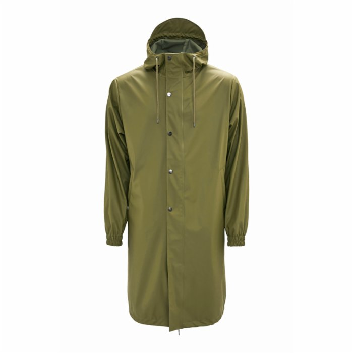 Rains Fishtail Parka Raincoat - Sage