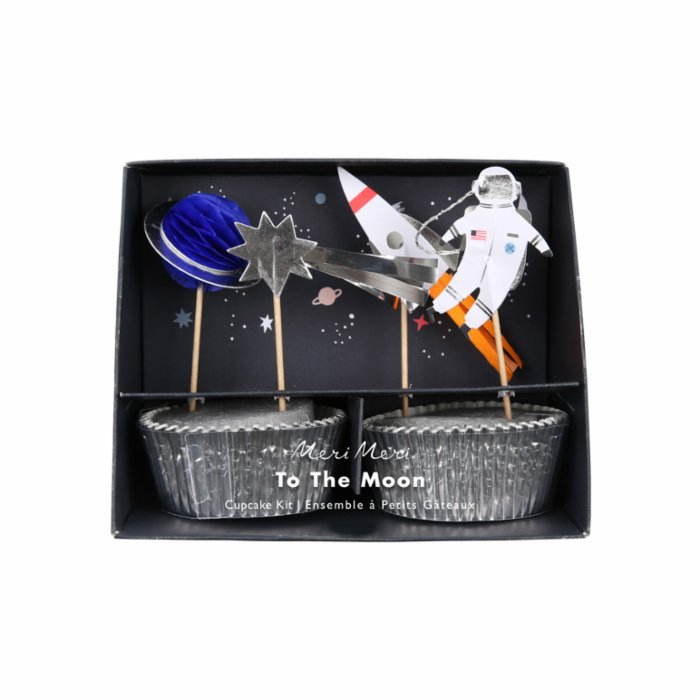 Meri Meri Space Cupcake Kit