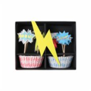 Meri Meri  Super Hero Cupcake Kit