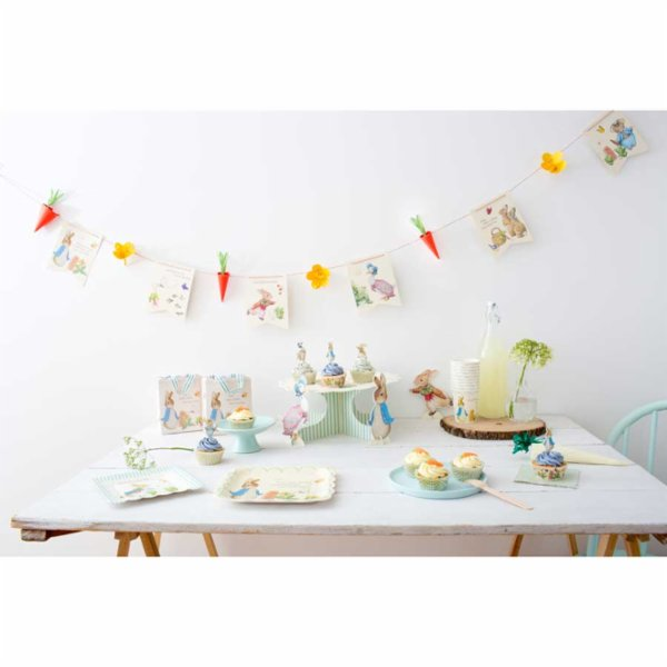 Meri Meri Peter Rabbit Plate II Pack of 12