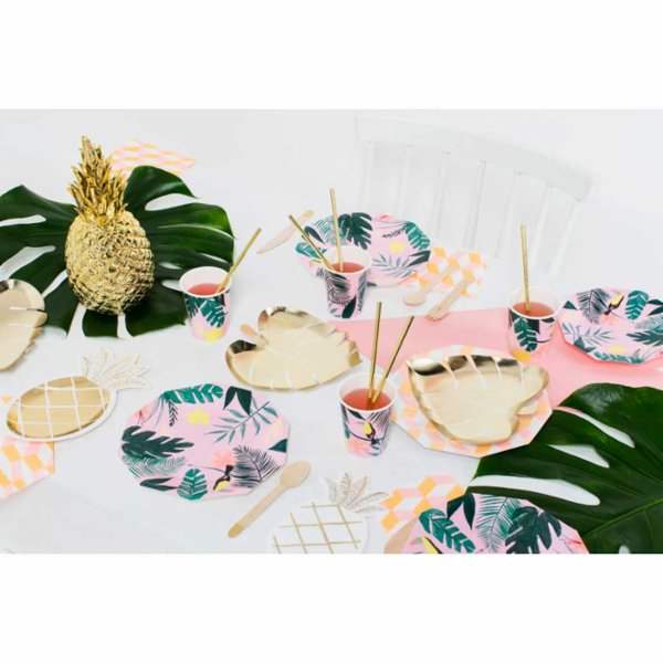 Meri Meri Pineapple Plate Pack of 8