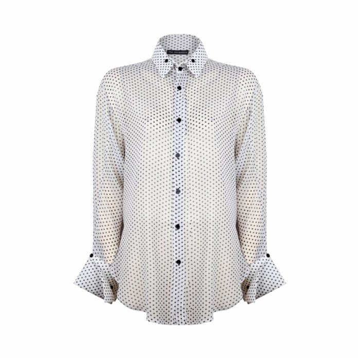 The Jacquelyns Tj Fulldot Shirt
