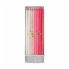 Meri Meri Pink Straight Birthday Candle