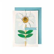 Meri Meri  Emboridered Flower Card