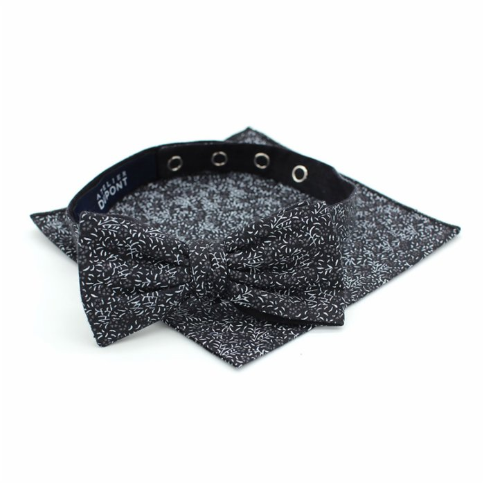 Atelier Dupont Minsk Bow Tie&Pocket Square