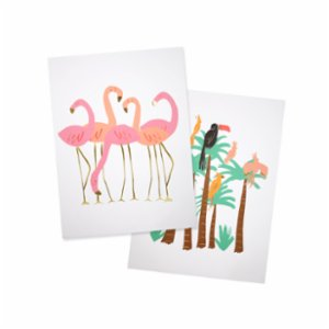 Meri Meri  Flamingo Wall Art