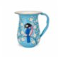 3rd Culture Blue Jug with Birds