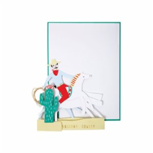 Meri Meri  Cowboy Greeting Card