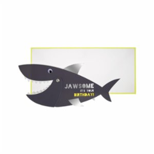 Meri Meri  Shark Greeting Card