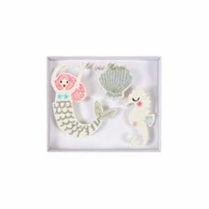 Meri Meri  Mermaid Brooches