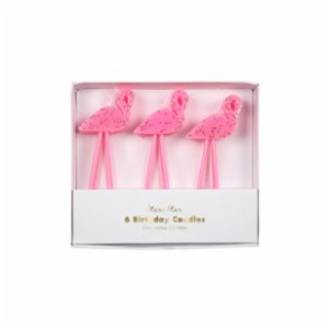 Meri Meri  Flamingo Candles