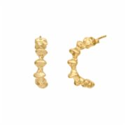 602Lab  Fosil Hoops Earring Small