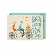 Meri Meri  A Bike Made For Two Card