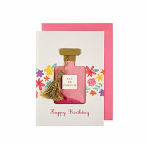 Meri Meri  Perfume Bottle Shaker Card