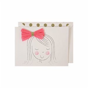 Meri Meri  Bow Greeting Card