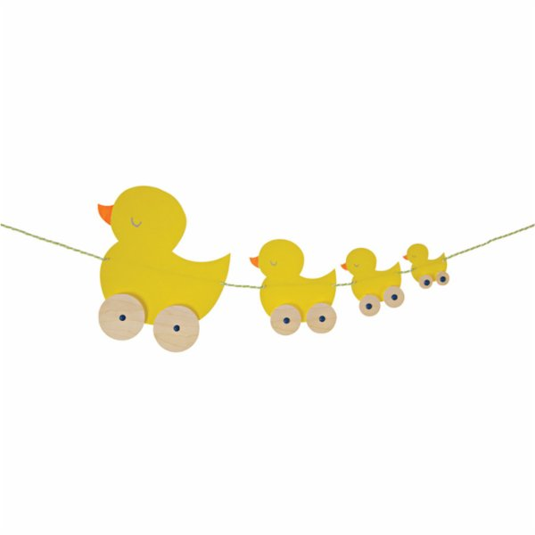 Meri Meri Duck Train Greeting Card