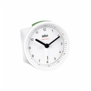 Braun  Braun Classic Light Analog Quartz Alarm Clock