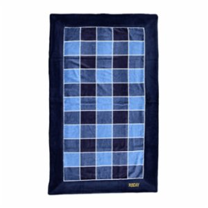 Sunday Funday  Plaid Men Men Beach Towel