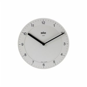 Braun  Classic Analog Quartz Wall Clock