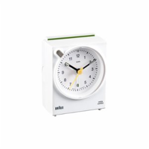 Braun  Classic Analog Quartz Alarm Clock Black