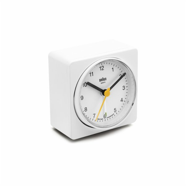 Braun Alarm Desk Square Clock